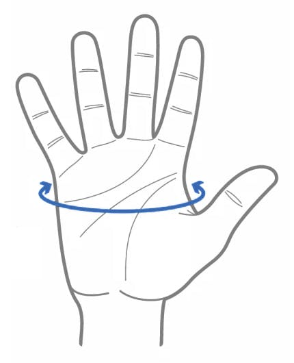 Glove size measurement