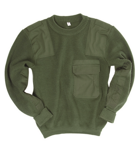 Bgs Green Commando Sweater Used
