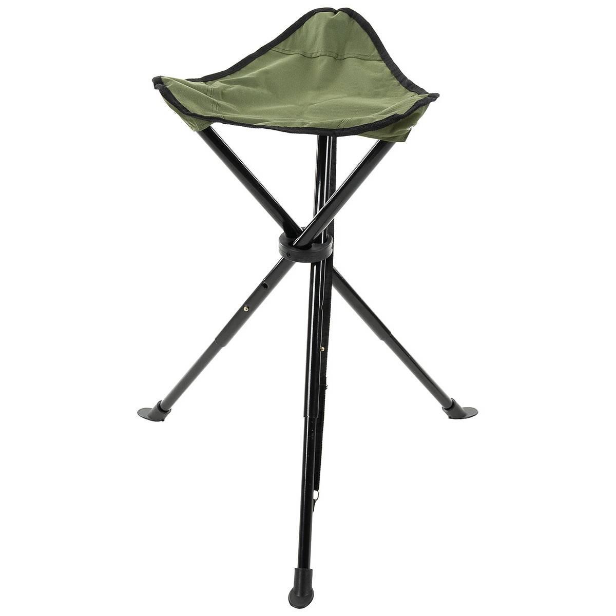Folding Chair 3 Leg Telescope Od Green