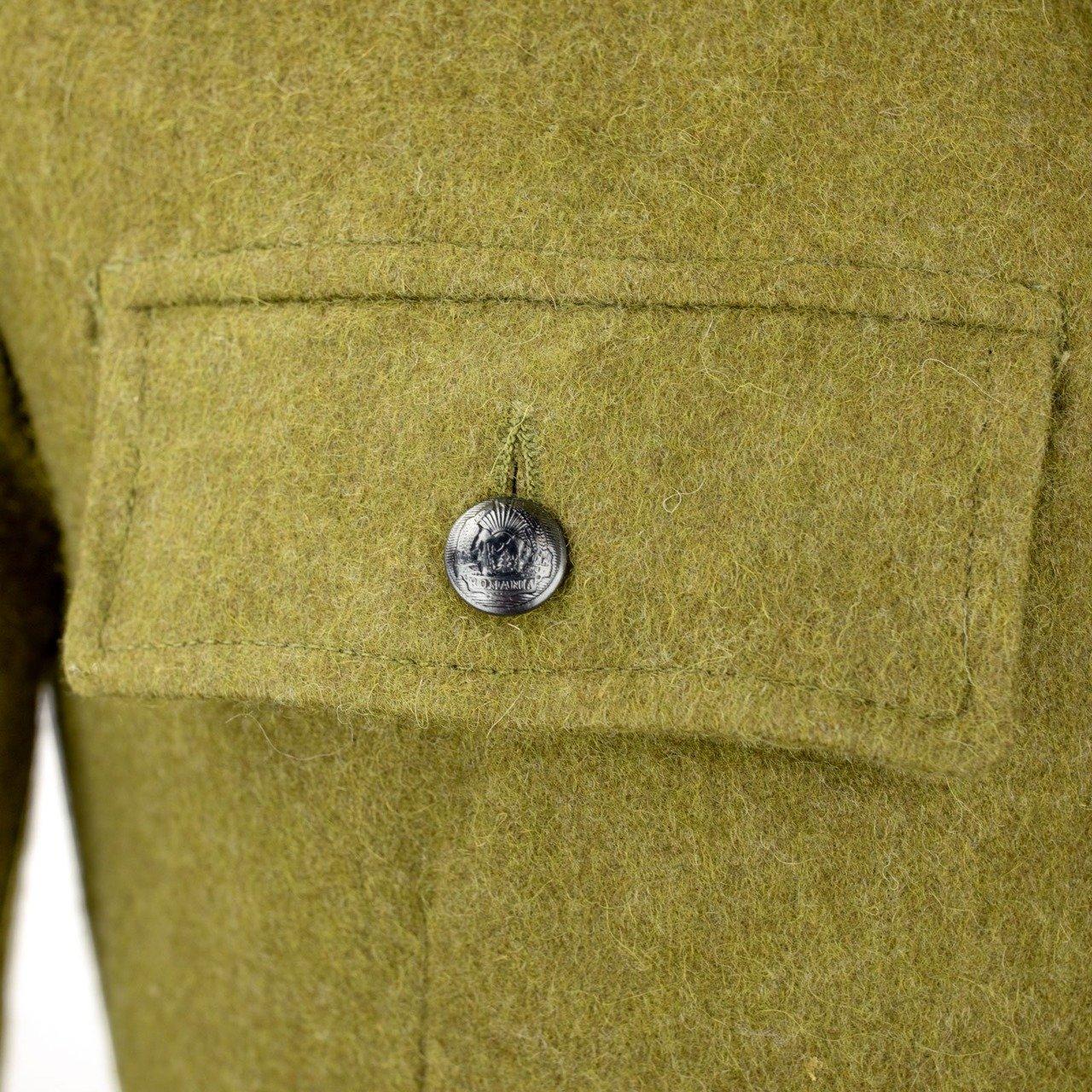 Romanian Army Green Wool Hunting Pants