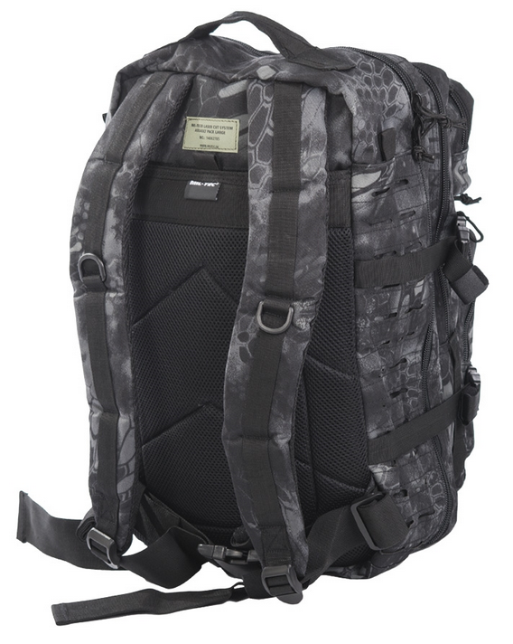 US ASSAULT PACK LARGE RUCKSACK BACKPACK ARMY AIRSOFT LASER CUT MANDRA NIGHT