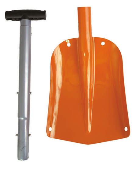 Foldable Snow/sand Shovel W. Pouch