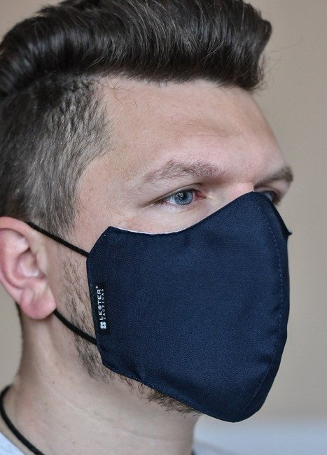 Urban Gear reusable mask with integred filter SIAS  - Lecter Tactical - Midnight Blue