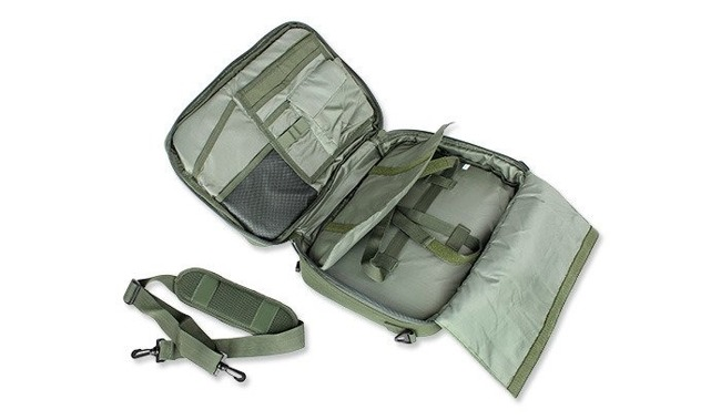 101 Inc. - Tactical Laptop Bag / Backpack - OD Green