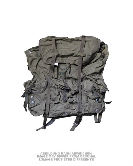 "BELGIUM BACKPACK ""SEYNETX"" - OD - USED"
