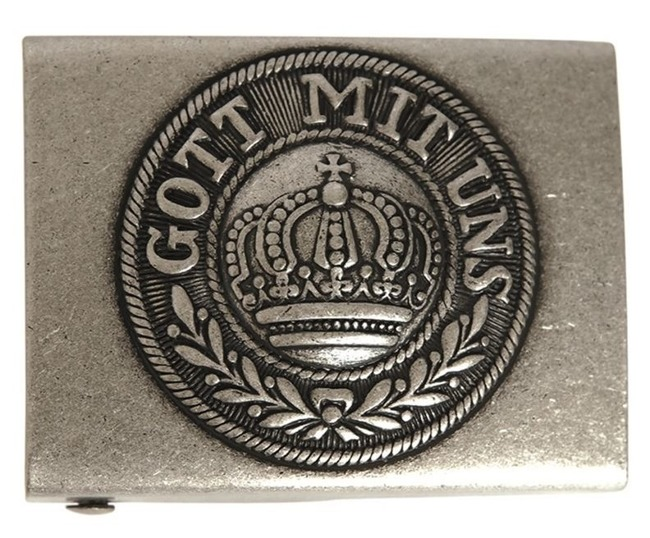 BELT BUCKLE FIELD GREY