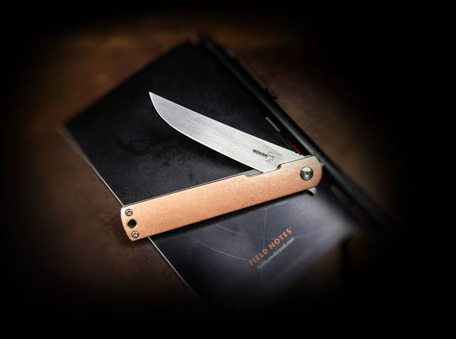 BHQ NORI COOPER POCKET KNIFE - BOKER