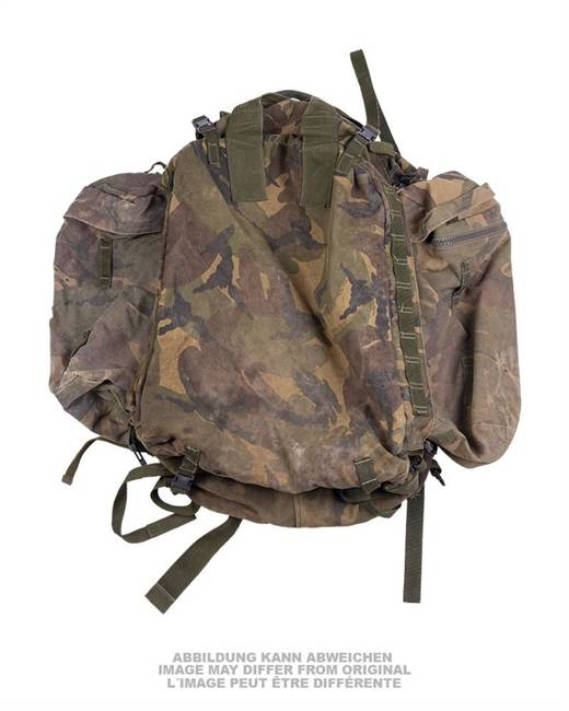 BRITISH BACKPACK / BAG - DPM CAMO - USED