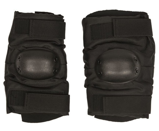 Black PULL-OVER STYLE ELBOW PADS