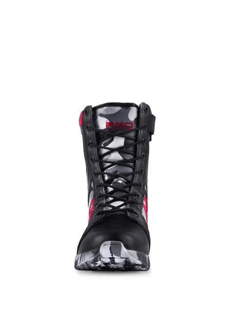 Boots Double Red - Armyshock B&W