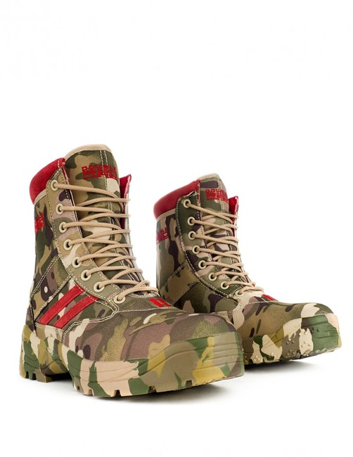 Boots - Double Red - Multicam