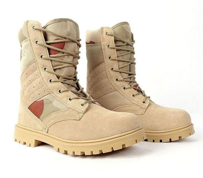 Boots - Double Red - Red Desert Storm