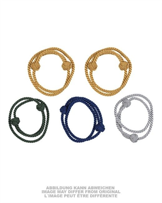 CORD ASSORTED COLORS (5 PCS.) LIKE NEW