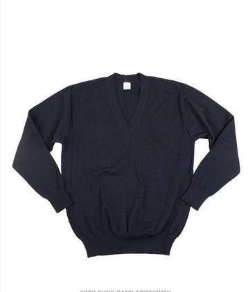CZECH BLUE V-NECK SWEATER LIKE NEW