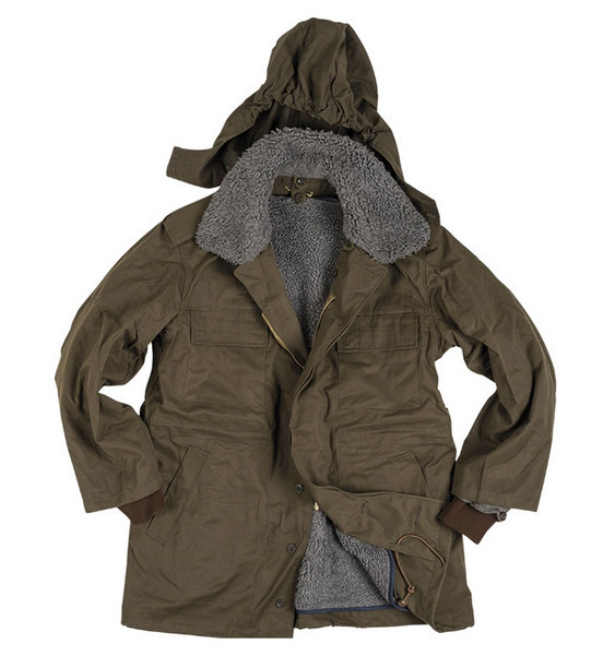CZECH OD M85 PARKA WITH LINER USED