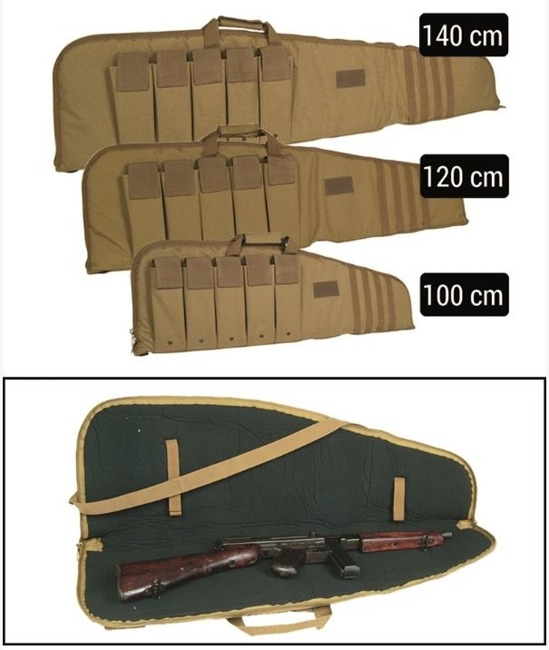 Coyote 120 CM RIFLE CASE WITH STRAP