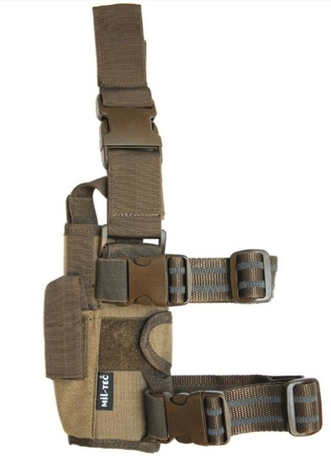 Coyote ADJUSTABLE CORDURA LEG HOLSTER