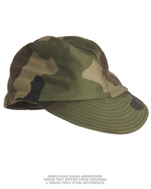 FRENCH CCE CAMO FIELD CAP USED
