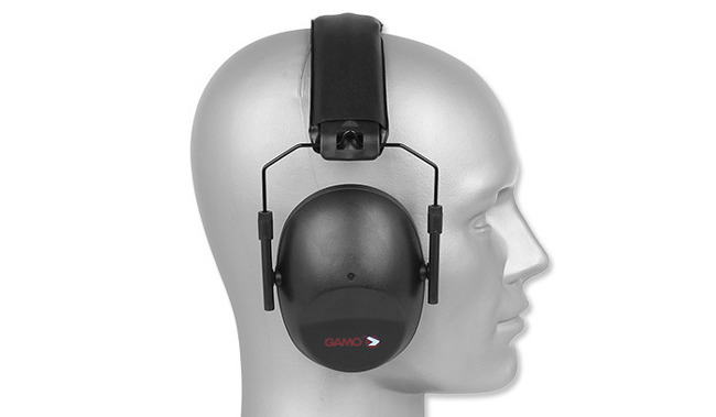 GAMO - PASSIVE EAR MUFFS - BLACK -