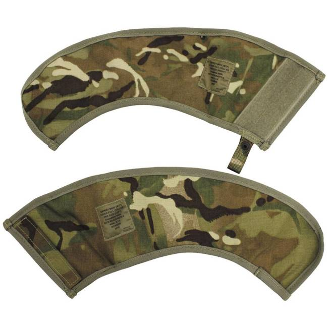 GB COVER COLLAR FOR BODY-ARMOUR - MTP CAMO - USED