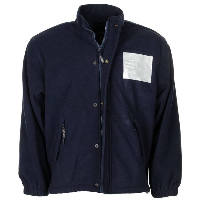 GB FLEECE JACKET - WITH LINING - BLUE - USED