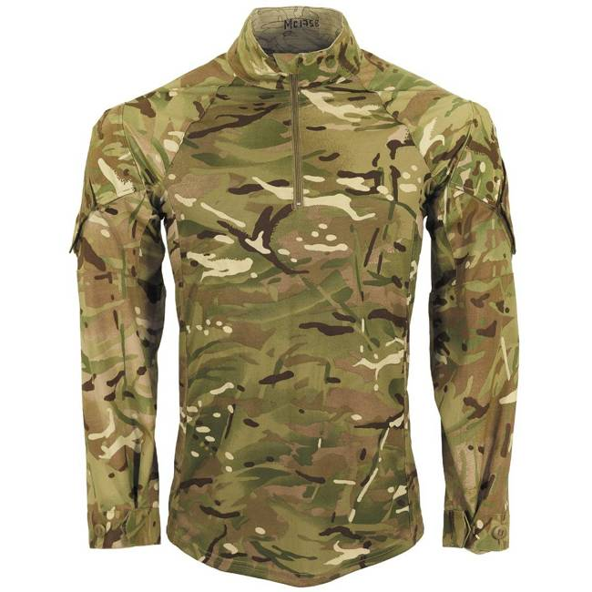 "GB UNDER BODY ARMOUR SHIRT ""UBAC"" - MTP CAMO - USED"