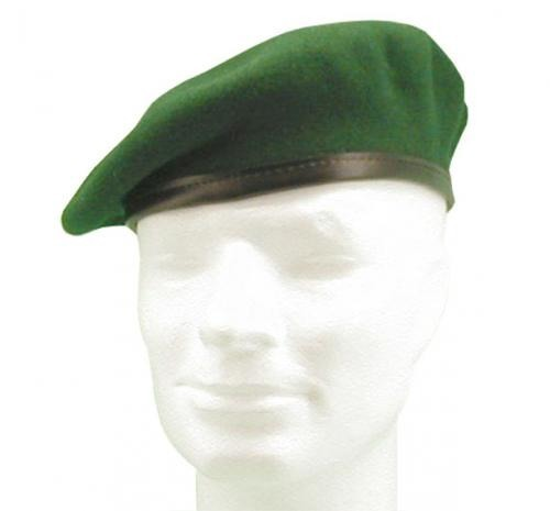 GERMAN ARMY GREEN BERET USED