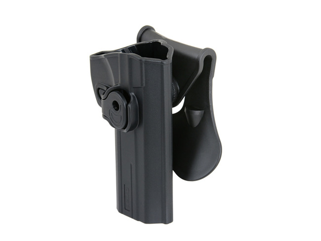 HIGH-TECH POLYMER HOLSTER FOR CZ 75 SP-01 SHADOW - BLACK [CYTAC]