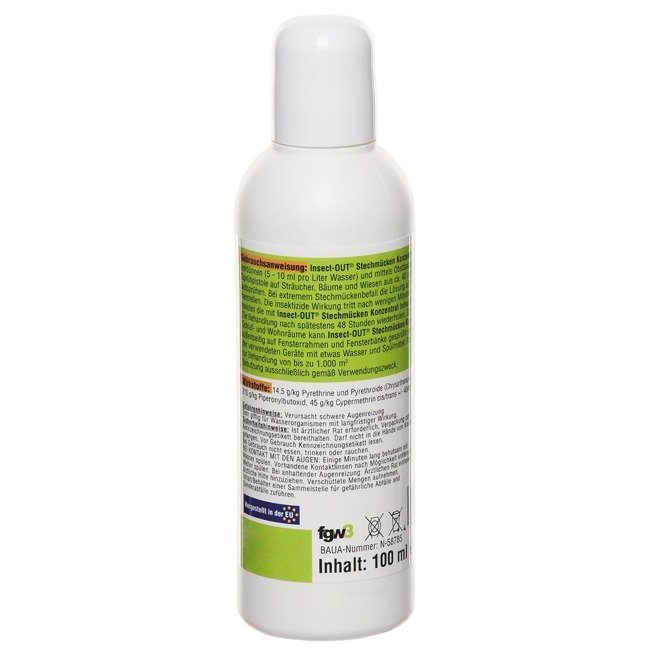 Insect-OUT Anti-mosquito Concentrate - 100 ml