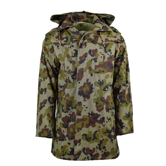 Leaf pattern winter jacket M93 parka  - Romanian army surplus