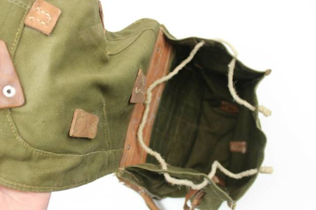 Military Olive Romanian Retro Rucksack - RSR Romanian army (Used)