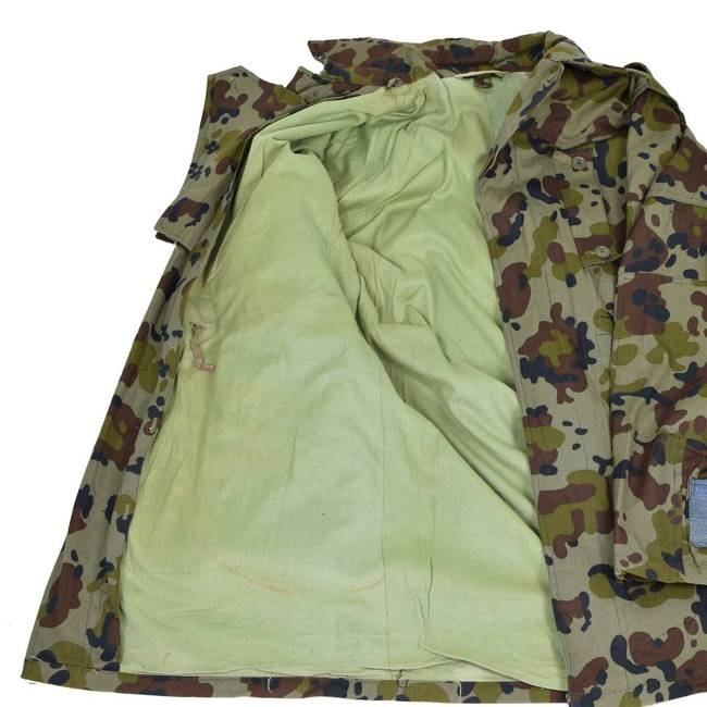 Mozaic winter jacket - Romanian army surplus