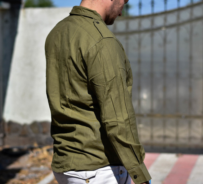 Olive shirt, Cold War era, Romanian Army Surplus