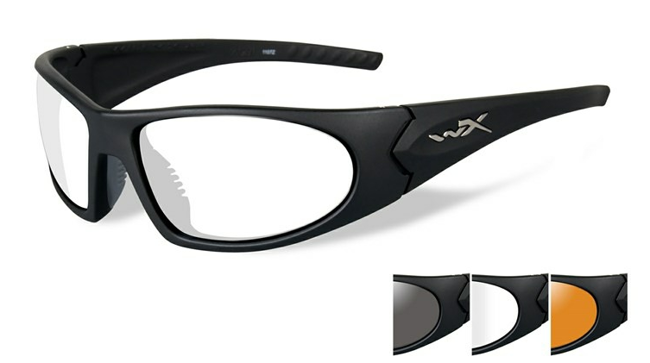 ROMER 3 GREY/CLEAR/RUST/MATTE BLACK FRAME