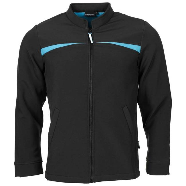 SOFT SHELL JACKET - BLACK - LIKE NEW