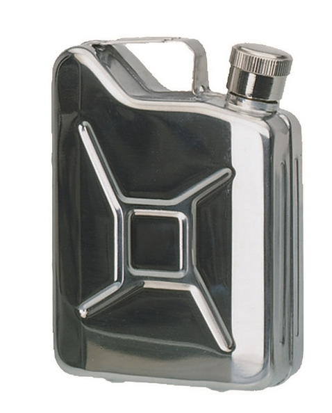 STAINLESS STEEL ′JERRY CAN′ FLASK