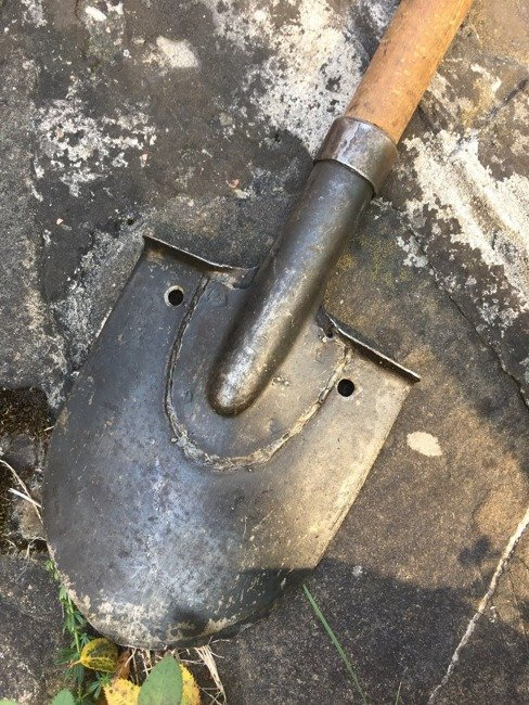 Small infantry shovel, Romanian Army Surplus