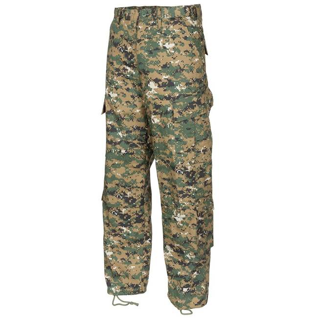 US Field Pants, ACU, Rip Stop, digital woodland