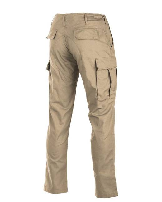 US KHAKI R/S BDU FIELD PANTS ′SLIM FIT′