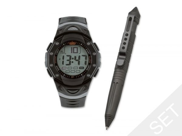 Uzi Pen & Watch Tactical Gift Set