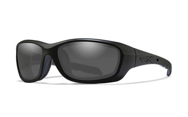 Wiley X Gravity Gray Lens-Matte Black Frame Ballistic Eyewear