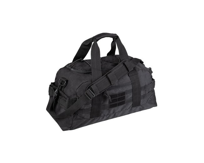 BLACK US COMBAT PARACHUTE CARGO BAG SMALL