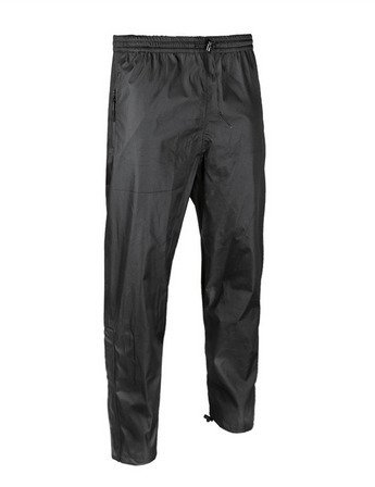 BLACK WET WEATHER PANTS MIL-TEC®