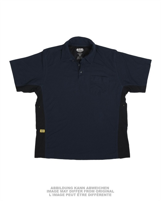 NATO DARK BLUE ′SNICKERS′ POLO SHIRT USED
