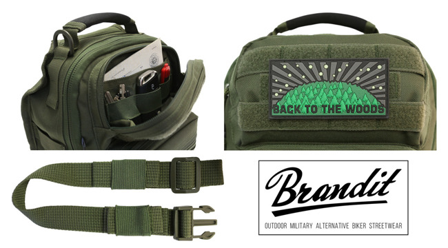 Zacskó US Cooper EveryDayCarry Sling olive