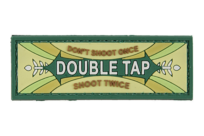 3D Patch – Double Tap - olive